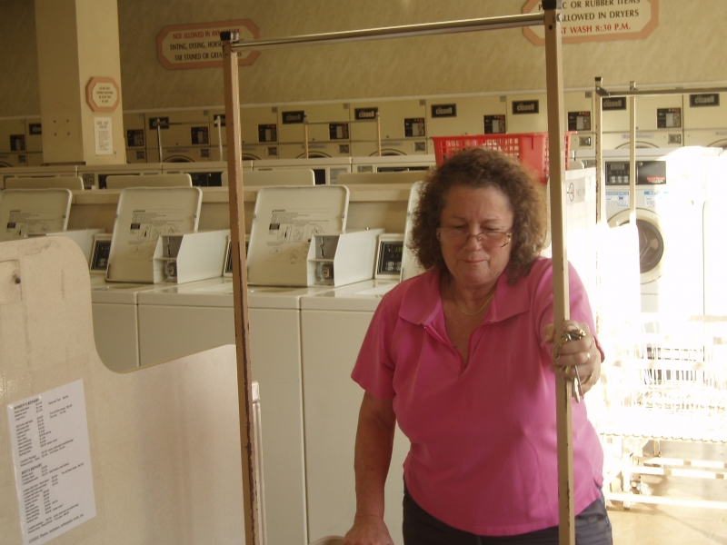 Kathy Malkemus, The Owner of Laundromat in El Cajon