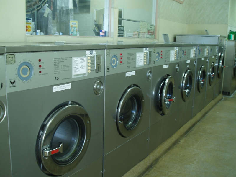 IPSO Side Washers at TLC Cleaners in El Cajon